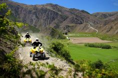 Quad Biking in the Southern Lakes Region - New Zealand.     www.seasonz.co.nz/index.php/experiences/114-queenstown-adventure-day