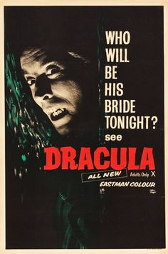 Horror of Dracula (Universal International, 1958). British | Lot #86261 | Heritage Auctions