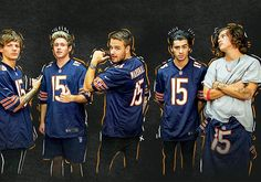 This is really funny because harry is a packers fan and he isn't even wearing the jersey!>>>> UGGGG Y DO U HA E 2 B A PACKERS FAN?!?! U COUKD OF CHOSEN ANYONE ELSE!!!! Y not the Bears, or Stealers, Patriots, Fakcons, Dolphins, Raiders, etc. I DON'T EVEN CARE!!!! AS LONG AS IT WASN'T THE PACKERS!!!!