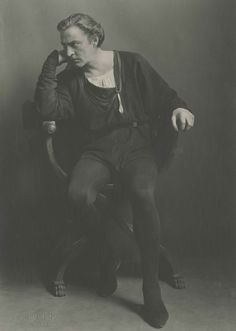 John Barrymore as Hamlet in 1922. Part of the Gene Fowler Collection of Barrymore's artifacts at the University of Colorado at Boulder Libraries Special Collections. (Photo: Courtesy of CU Libraries Special Collections Dept./Albin, New York)