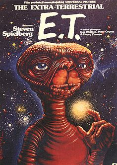 E.T. Film Poster. Im