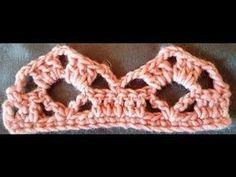 Learn to Crochet – Crochet Wave Fan Edging. Crochet Doily Rug, Crochet Shrug Pattern, Crochet Edging Patterns, Crochet Lace Edging, Crochet Fall, Crochet Borders, Crochet Round, Crochet Chart, Crochet Designs