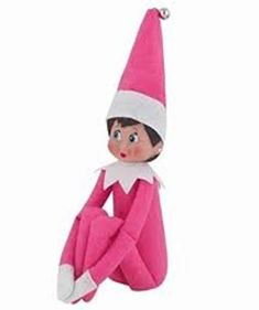 Christmas On The Shelf Pink Plush Doll Kids Girl Figure Elves Magic Xmas Gift Christmas Animals, Pink Christmas, Christmas Tree, The Elf, Elf On The Shelf, How To Make Pink, Elf Toy, Walmart Toys, Elf Decorations