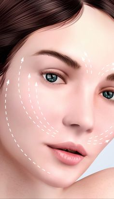 Here's a Great Solution Recommended by Beauty Experts for Firmer, Younger Looking Skin. Beauty Skin, Beauty Makeup, Hair Beauty, Makeup For Droopy Eyelids, Facial Cupping, Tighter Skin, Face Wrinkles, Health And Beauty Tips, Love Hair