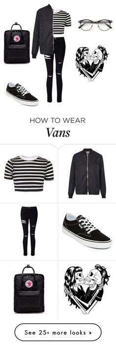 """Unbenannt #188"" by beggars on Polyvore featuring Topshop, Vans, Miss Selfridge, Fjällräven, ZeroUV, Acne Studios and Deandri"