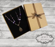 Pretty Purple Presents by JustJofie on Etsy