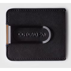 Octovo Dualist Money Clip | Black