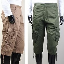 Dsquared2 cargo cropped trousers | Mens Cargo Pants | Pinterest