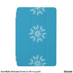 Snowflake iPad mini Cover