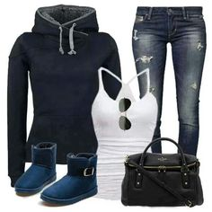 Very nice outfit for winter and fall <3