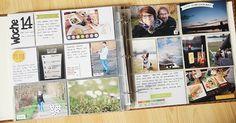 Mai PL Kit / Scrapbook Werkstatt / Woche von Katja Müller