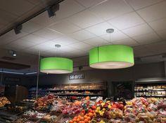 Lampenschirme für Ladenbau