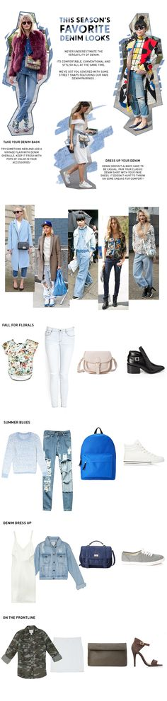 This seasons fave #denim looks now on the #F21Blog!
