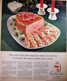 The 50s were a great time for exploring how far you could take a bad idea for new food combinations.