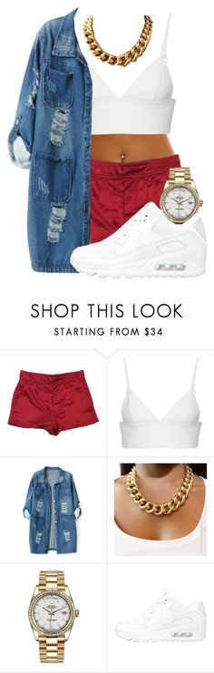 """Untitled #166"" by diamondanderson287 ❤ liked on Polyvore featuring Marc Jacobs, T By Alexander Wang, Chicnova Fashion, Rolex and NIKE"