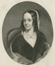 Sarah Josepha Hale 1788-1879   Widowed in 1822, Sarah worked as a writer to support her five children. In 1837, at the invitation of Louis Godey, she became the editor of Godey's Lady's Book, published in Philly. Although she opposed women's suffrage and eschewed controversy in Godey's, she consistently advocated for education, exercise, property rights, & sensible fashion for women. Under her leadership, Godey's became the leading American women's literary & fashion periodical for 4…