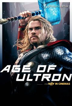 Illustrated 'The Avengers: Age Of Ultron' Character Posters
