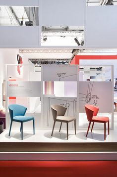 Calligaris stand at Salone Del Mobile 2013 by Nascent Design, Milan