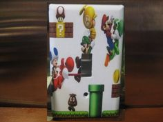 Super Mario Light Switch Wall Plate Cover by SerendipityzBoutique