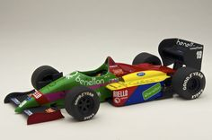 https://flic.kr/p/Juuc9P | Benetton Ford B187 | 1987 San Marino GP T. Fabi MERI KITS 1/43