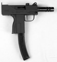 The MPA22-T Pistol is a new MAC-10 styled pistol chambered in .22 LR