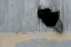 corrugated metal hole - Google Search
