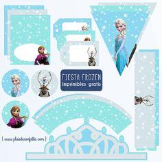 fiesta Frozen decoracion imprimible gratis 2