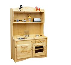 Camden Rose A Simple Hearth (Childs Cherry Wood Play Kitchen with ...