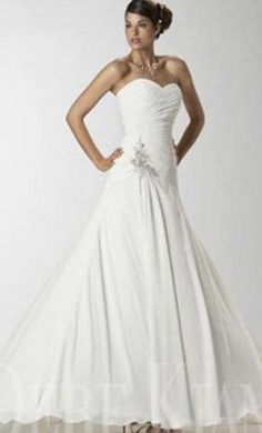 Dere Kiang 11046 wedding dress currently for sale at 73% off retail.