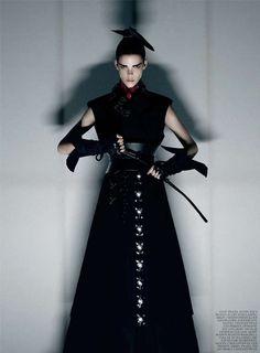 Striking Samurai Photoshoots : Honor Interview Magazine