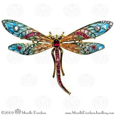another beautiful dragonfly pin