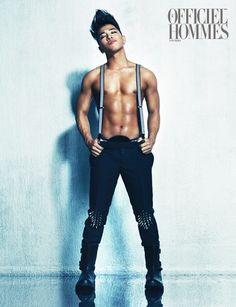"Taeyang (BIGBANG) ""L'Officiel Hommes"""