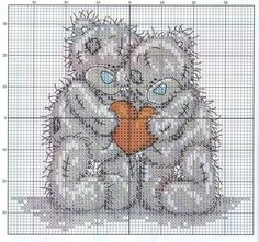 My Cross Stitch Gallery: G112 :: Tatty Teddy - Valentine