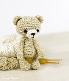 Crochet pattern: Small amigurumi teddy bear // Kristi Tullus (spire.ee)