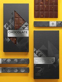 "Packaging for ""Chocolate Made By You"" by Galya Akhmetzyanova & Pavla Chuykina"