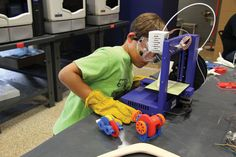 3D printing in classrooms #makerguild #3Dprinting #education