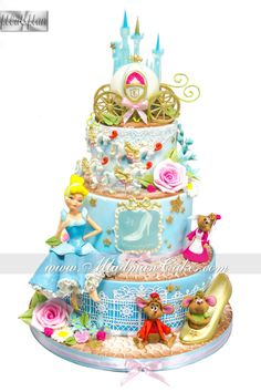 Cinderella Cake Cakes and Cupcakes for Kids birthday party
