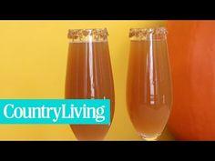 Apple Cider Mimosas - How to Make Apple Cider Mimosas