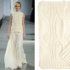 2012 Fall New York Fashion Week Looks With Home Decor Products