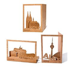 German City Impressions Set Of 3 $12.00 now featured on Fab.