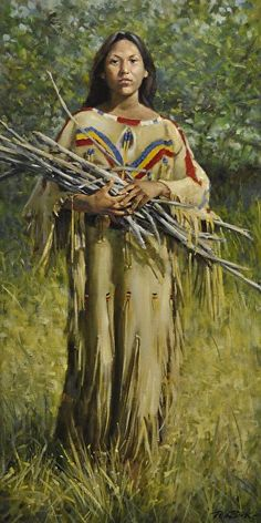 Native American Indian Pictures: Color Photo of Sioux Indian Women in Historic Paintings Native American Girls, Native American Pictures, Native American Artwork, Native American Beauty, American Indian Art, Native American History, American Indians, Indian Pictures, American Symbols