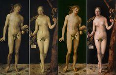 Museo Nacional del Prado: Restauración de Adán y Eva de Durero