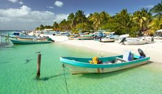 Playa Norte on Isla Mujeres across from Cancun. Cuba Resorts, Inclusive Resorts, Best Beaches In Mexico, Beaches In The World, Best Family Vacation Destinations, Dream Vacations, Visit Mexico, Quintana Roo, Tropical Beaches