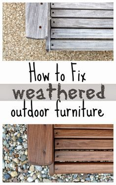 How To Waterproof Outdoor Furniture {the EASY Way | Wood Furniture, Woods  And Backyard Part 51