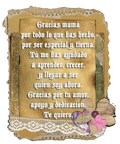 2014 poems for mom | ... Graphics Spanish Mother's Day poem. mother's day poems spanish
