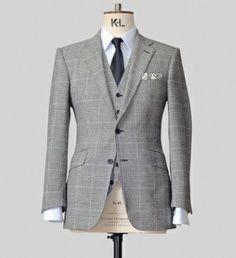 TS grey PoW suit