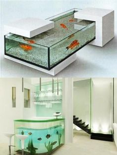 """35 Unusual Aquariums and Custom Tropical Fish Tanks for Unique Interior Design"""
