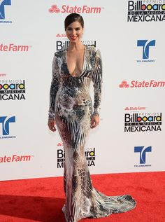 Roselyn Sanchez Mermaid Gown