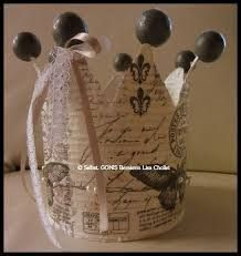 Picture result for crowns from tin cans - Home Page Christmas Dyi Crafts, Christmas Candles, Christmas Decorations, Tin Can Crafts, Cute Crafts, Diy And Crafts, Crown Decor, Paint Cans, Shabby Chic Style