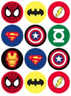 Superhero Party FREE Printables Superhero party Free